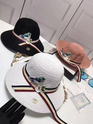 新入荷 グッチ 帽子 夏美品 国内発送