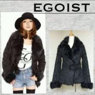 EGOIST 定価18000円ムートンコート