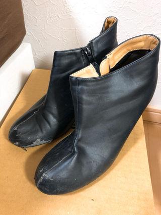サルース ブーツ 黒