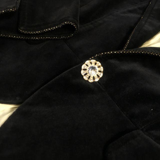 60213c65991a s-i様専用*セシルマクビー*ベロア素材ジャケット(セシルマクビー ...