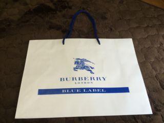 BURBERRY BLUELABEL ショップ袋