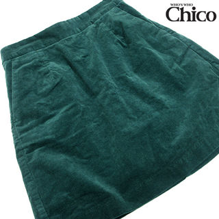 who's who Chico ミニ丈スカートG42