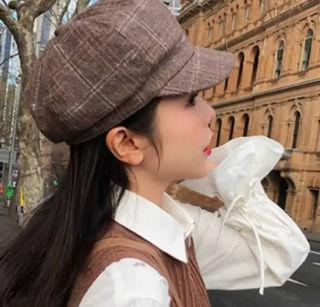 キャスケット ハンチング帽