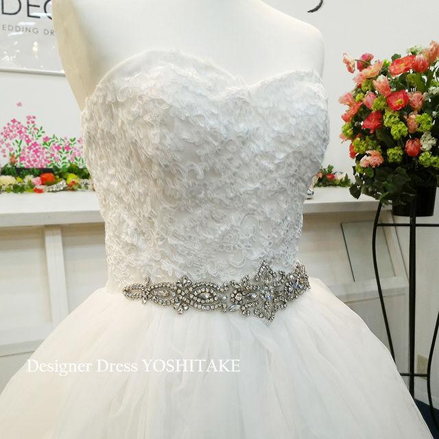ウエディングドレス(パニエ無料)  挙式ドレス