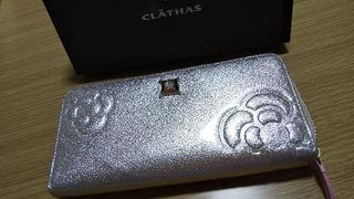 CLATHAS長財布(ピンクゴールド)新品