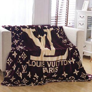 ルイヴィトン毛布 ブランケット シングル寝具