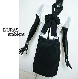 DURAS ambient*シフォンブラウス