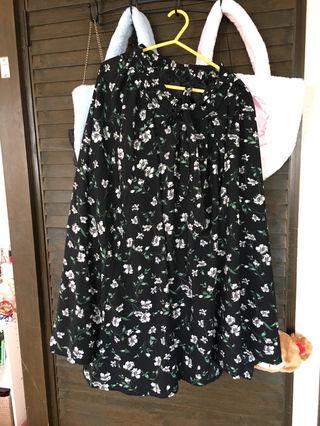 SUZUTAN花柄スカート