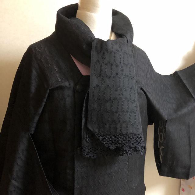 夏用 夏物 道行コート ストール付き 洋服の羽織り物にも