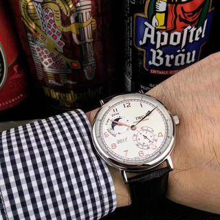 I W C 大人気 自動巻き シャレな腕時計