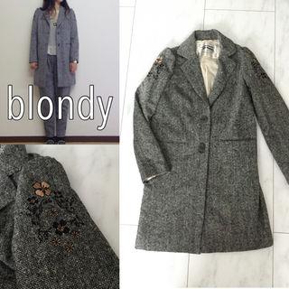 blondy viola刺繍ロングジャケット