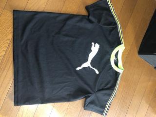 PUMAネオンTシャツ 160
