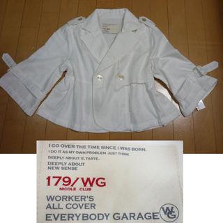 新品M・179/WG・春夏ショートジャケット