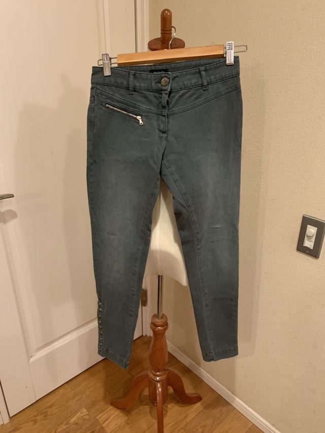 MAX&COのおしゃれスタッズつきジーンズ