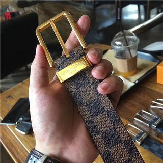 ルイビトン ビジネスベルト 紳士メンズ ベルトプレゼント