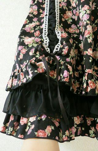 ピースナウ花柄スカート