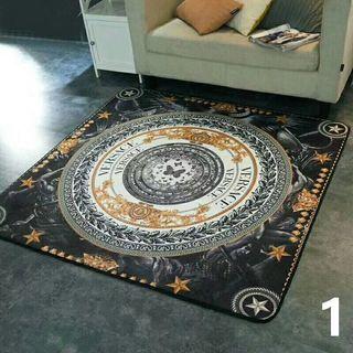 ジバンシィ ベルサーチ絨毯 カーペット 応接間マット