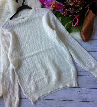 美品!IKKAアンゴラ入りふわふわ柔らかニット×セーター