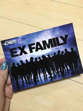 EX Familyポストカード(同梱包+150円)