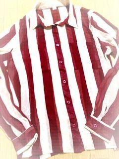 新品FOREVER21 ストライプシャツ