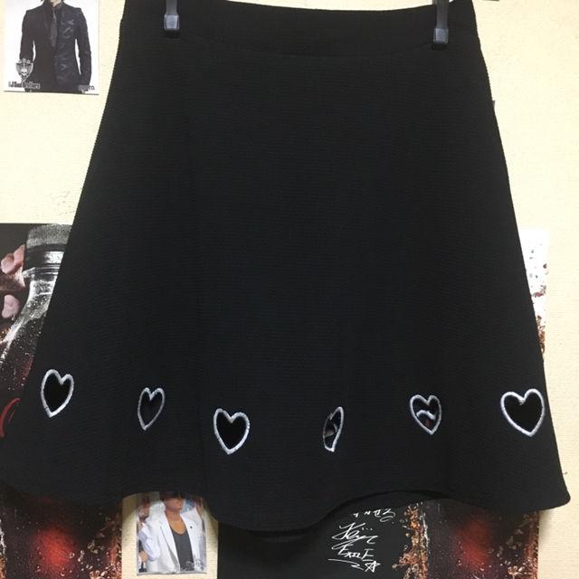 マーズ ハートくり抜きスカート