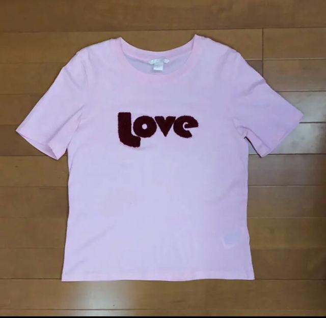 H&M   半袖Tシャツ(H&M(エイチアンドエム) ) - フリマアプリ&サイトShoppies[ショッピーズ]