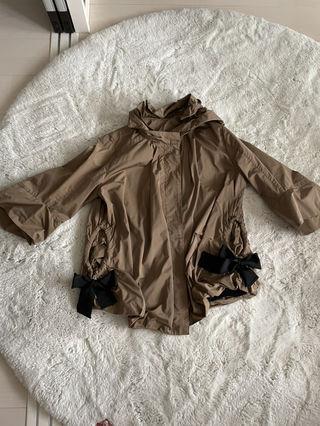 ビアズリー リボンフード付きジャケット