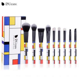 DUcare アートデザインメイクブラシセット