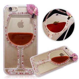 赤ワイン型リップiPhone6ケース カバー3D