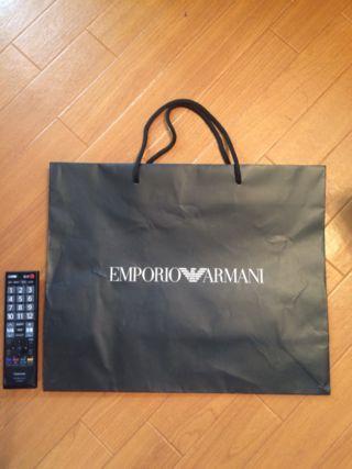 アルマーニ ショップ袋