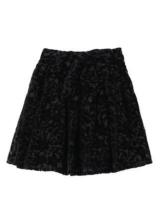 ベロアフロッキースカート