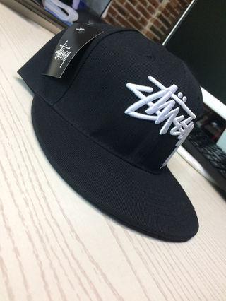 AKUMA stussy 帽子  黒 男女兼用 ファクション