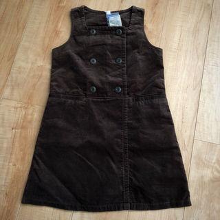 【未使用】120cm ユニクロ ジャンパースカート ワンピ