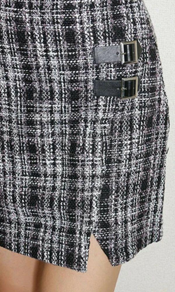 リップサービス ツィードラップスカート