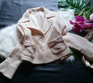 美品、LDプライムリボン付き×ラメツイードジャケット