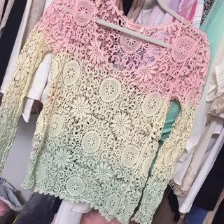 anap mimpi かぎ編み トップス
