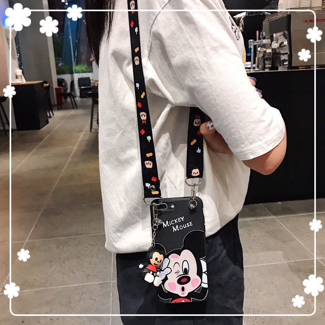 Xiaomi ミッキー ミニー 人形付 ケース カバー