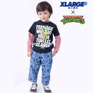 X-LARGE KIDS×タートルズ コラボ セットアップ