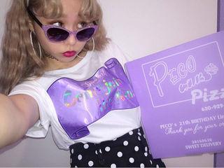 PECO CLUB×bubbles コラボTシャツ