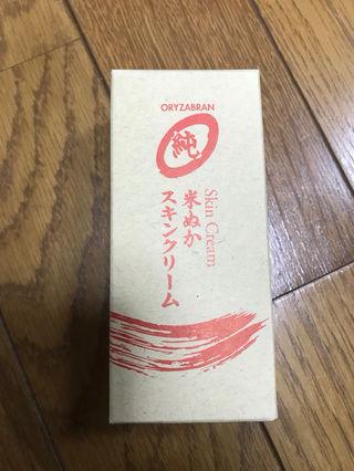 オリザ ジュン スキンクリーム 米ぬか 新品 美容室