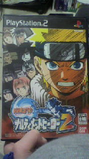 ナルティメットヒーロー2 PS2ソフト