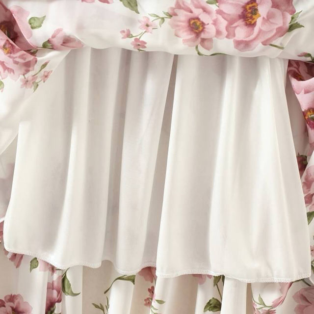 花柄スカート ロングスカート 膝丈スカート