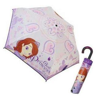 ディズニー 小さなプリンセス ソフィア   折りたたみ傘 !