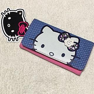 新品ハローキティレースとビジュー付き布製お財布