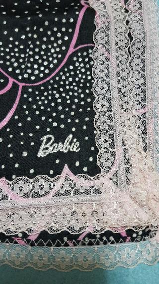 Barbie  大判 レースハンカチ