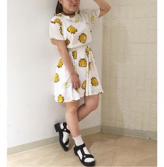 punyus ガーフィールドコラボスカート