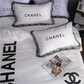 q148高級感 寝具カバー 2枚枕カバー 4点セット