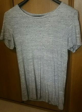 old navy*relaxed*グレーTシャツ*半袖
