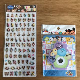 【新品】ディズニーアルファベットシールとふせんメモ