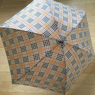 Burberry風 折りたたみ傘